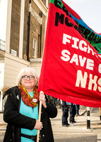 #ourNHS Demo organised by Peoples Assembly